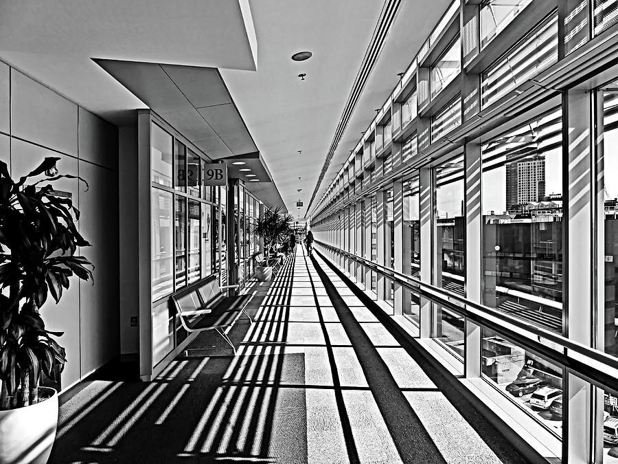 Boston Photograph - Floor Nine by Lyuba Filatova
