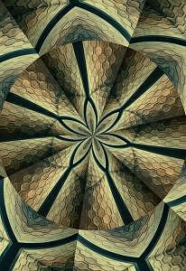 Flor  Cosmica Digital Art by Mirta Cidra