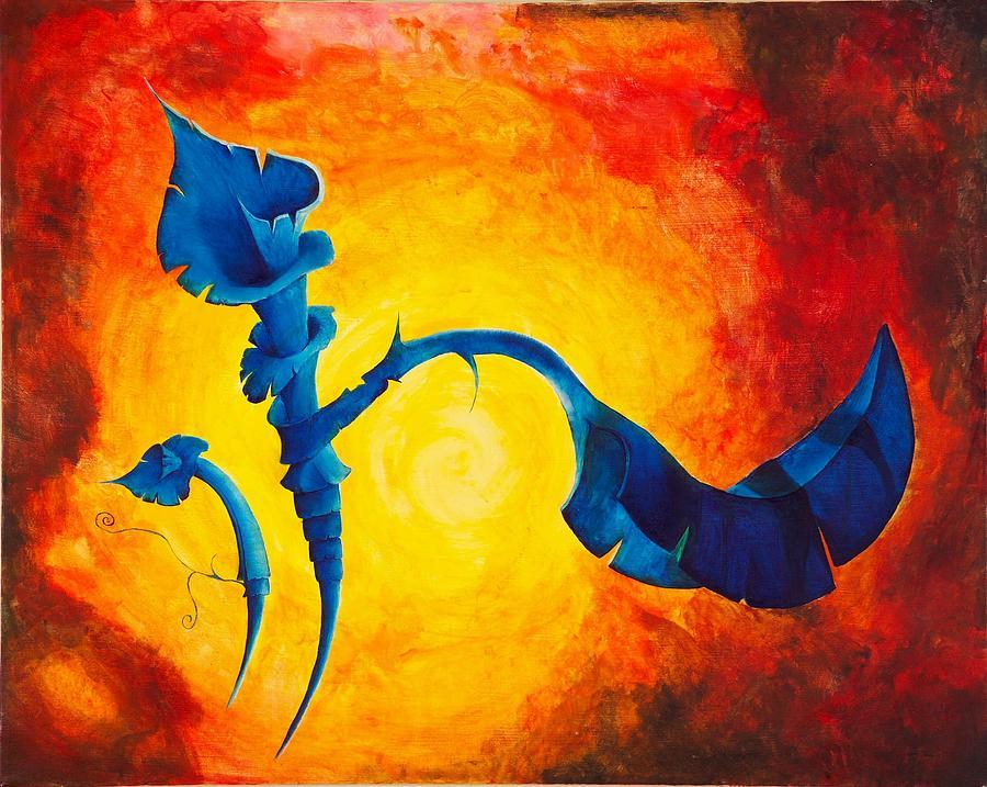Pop Painting - Flor Cubana by Mario Garcia