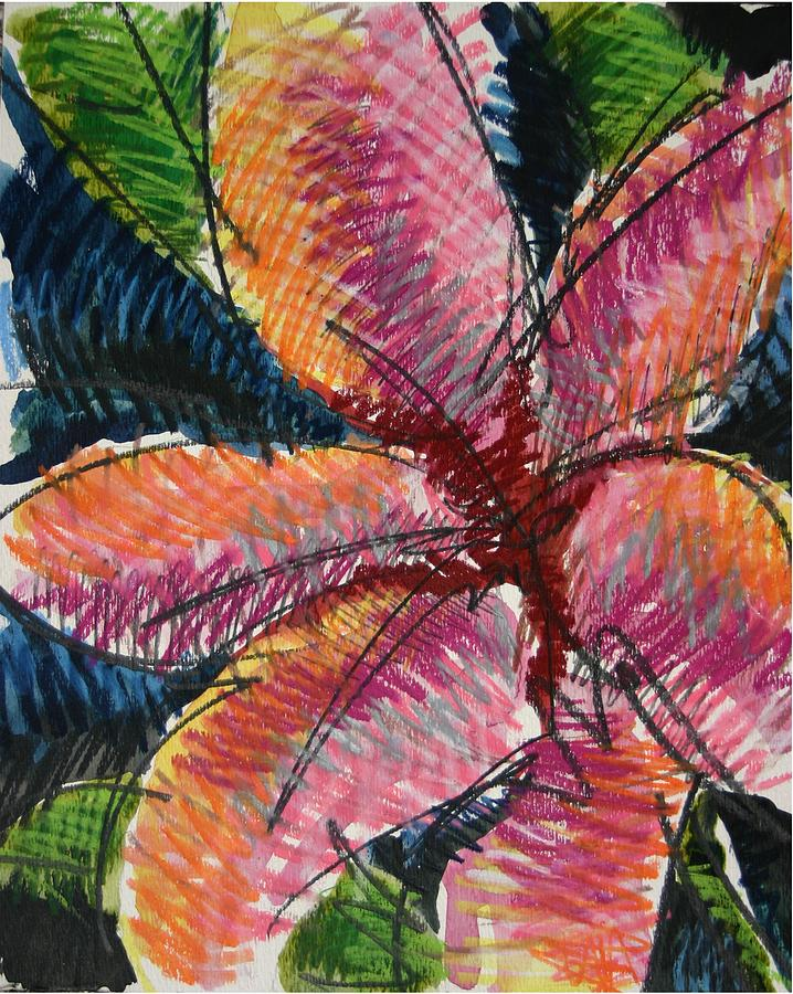 Lily Painting - Flora Exotica 3 by Dodd Holsapple