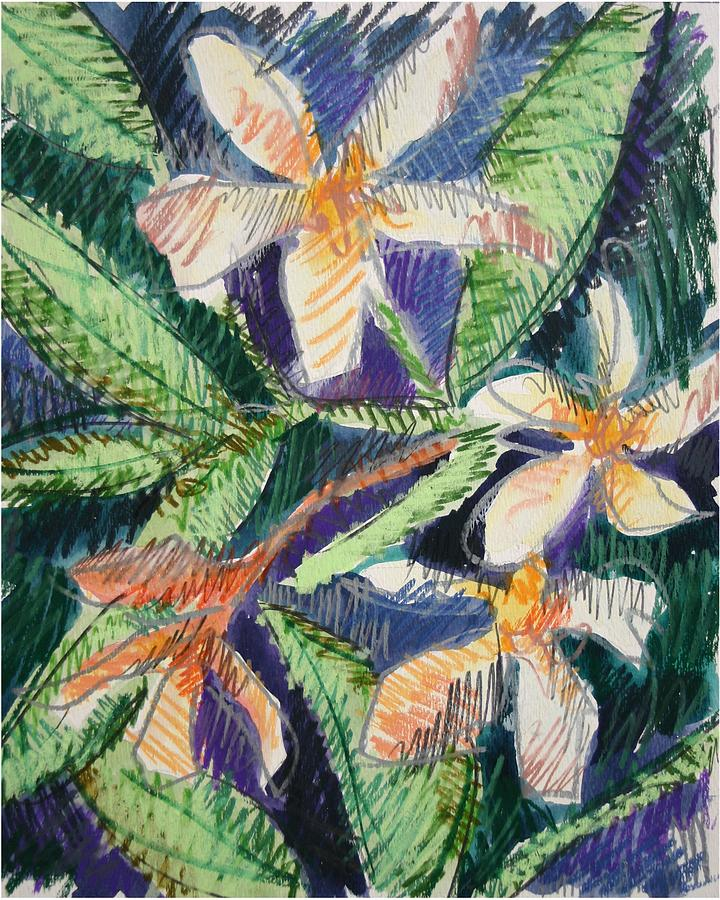 Flower Painting - Flora Exotica by Dodd Holsapple