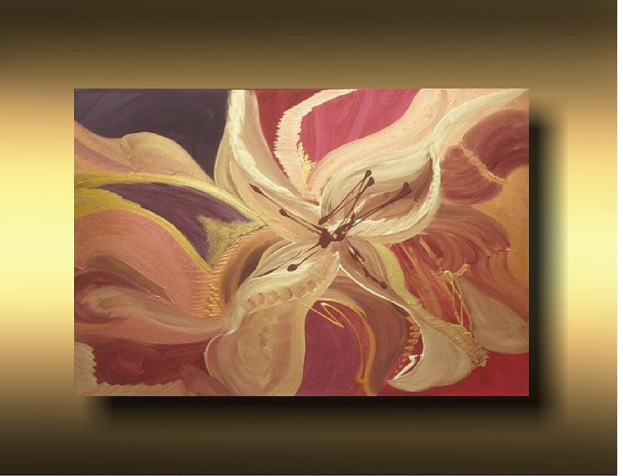 Contemporary Painting - Florabell by Laura Sherrill