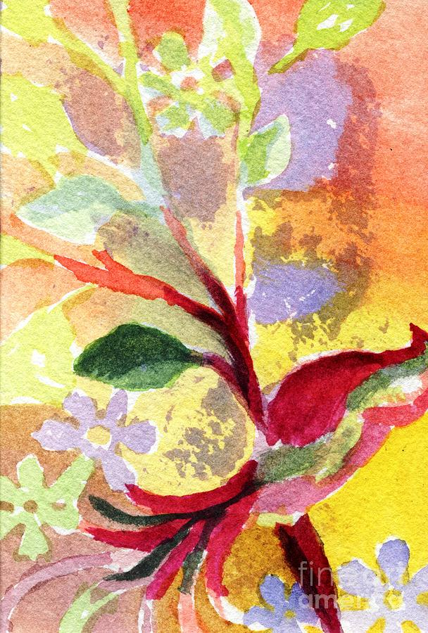 Floral Painting - Floral Abstract by Joe Hagarty