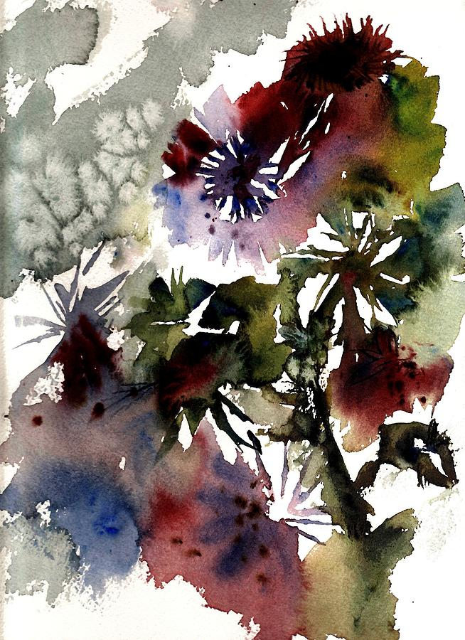 Floral Painting - Floral by Anne Duke