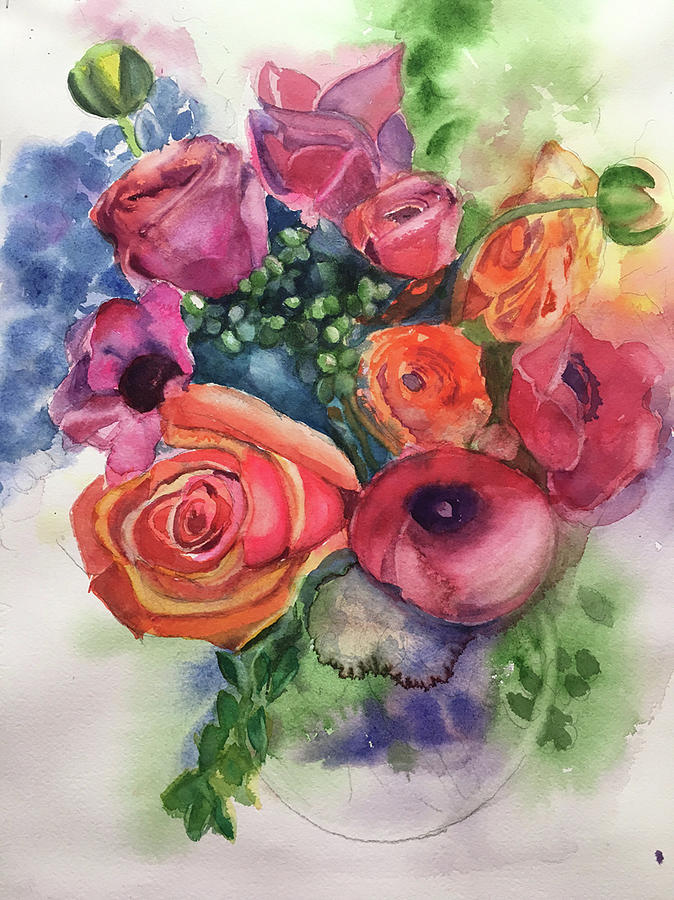 Floral Fantasy by Lynne Atwood