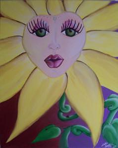 Flower Painting - Floral Features by Hollie Leffel