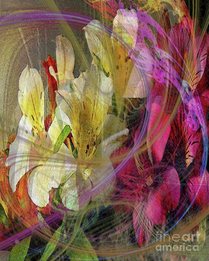 Flowers Digital Art - Floral Inspiration by John Beck