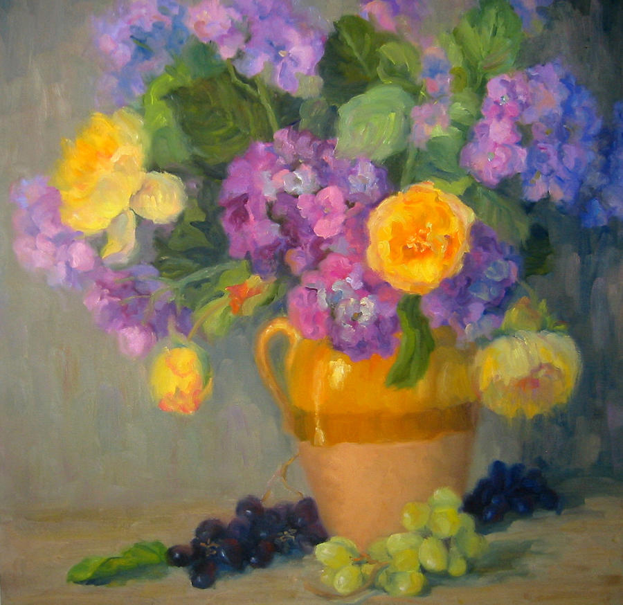Still Life Painting - Floral Melody by Bunny Oliver