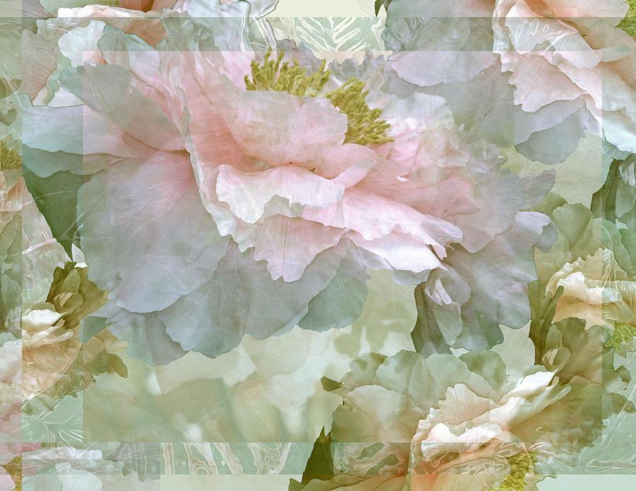 Floral Potpourri with Peonies 25 by Lynda Lehmann