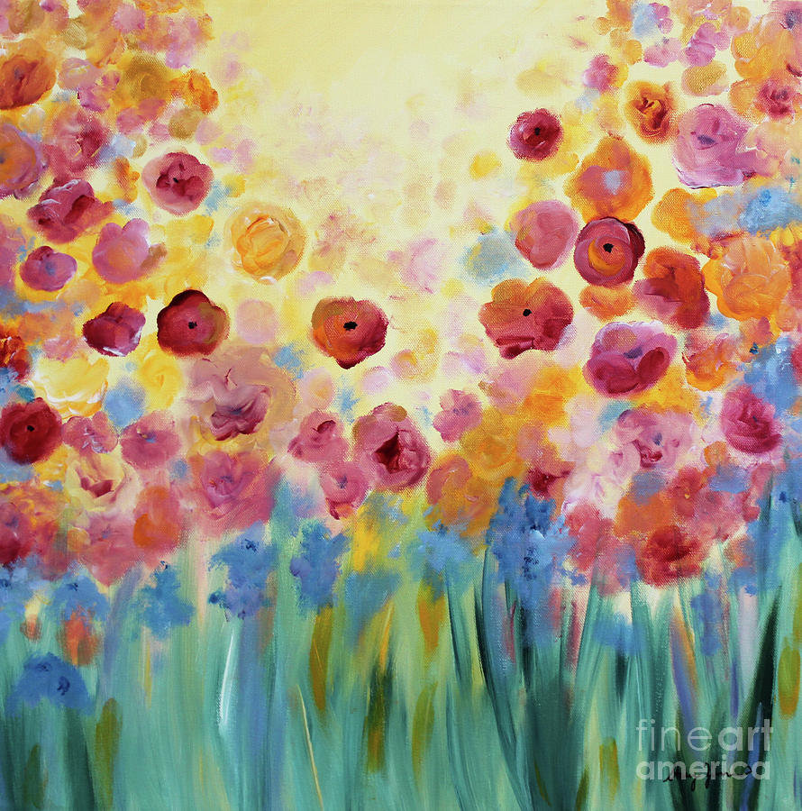 Floral Splendor II by Stacey Zimmerman