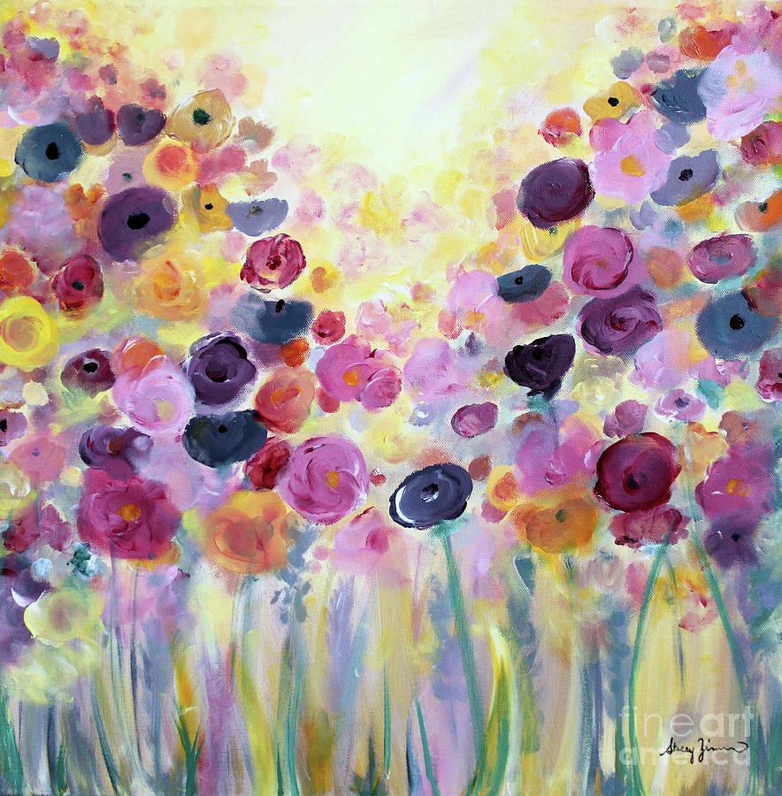 Floral Splendor III by Stacey Zimmerman