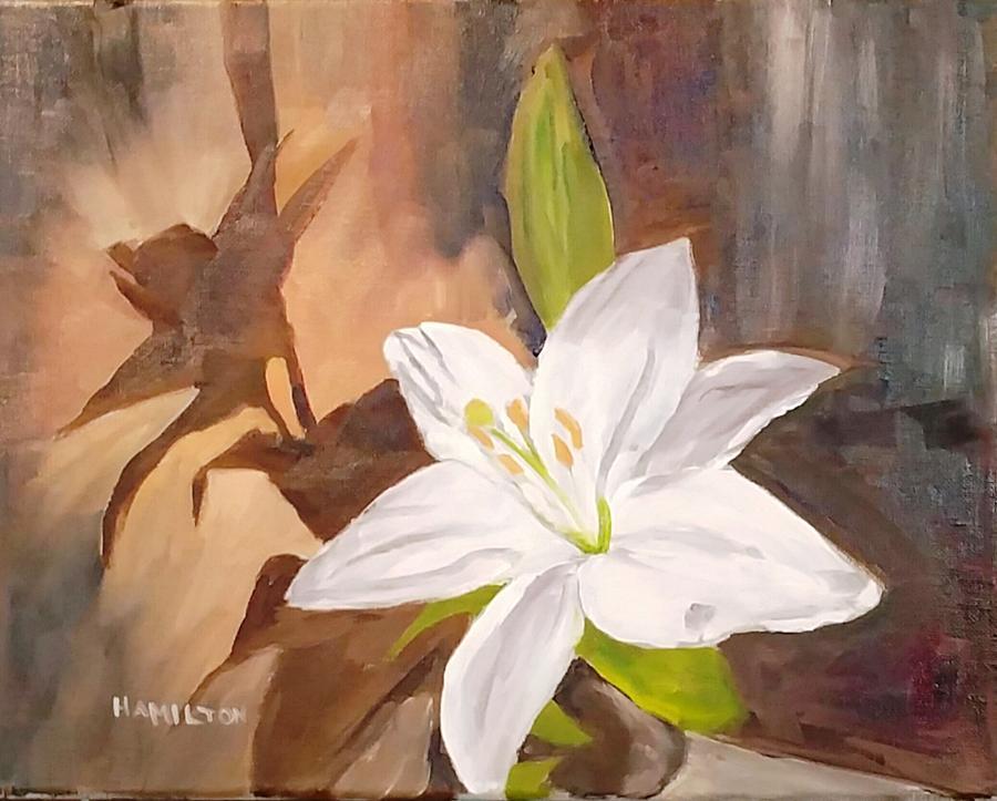 Floral-Still Life by Larry Hamilton
