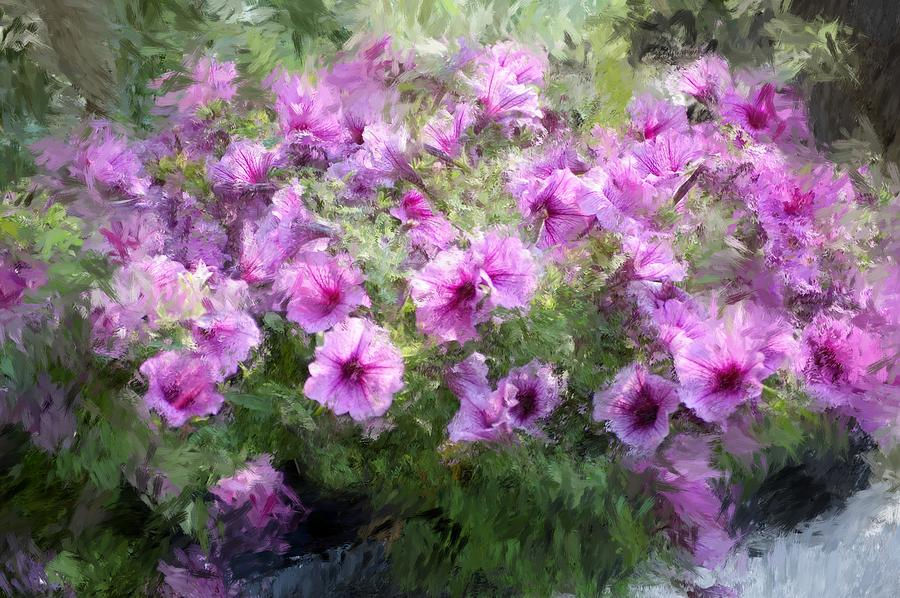 Digital Photography Photograph - Floral Study 053010 by David Lane
