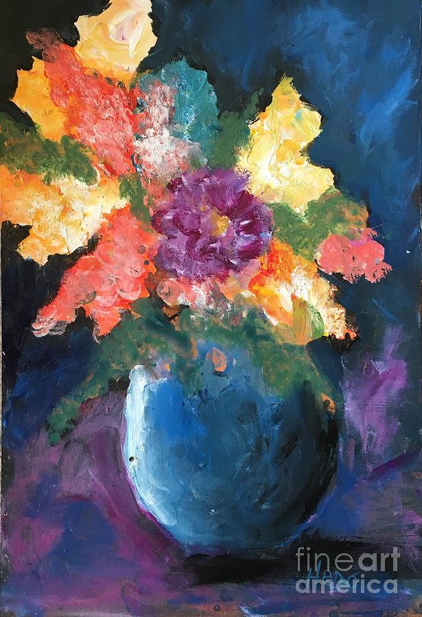 Floral Painting - Floral Study 1 by Marcia Hero