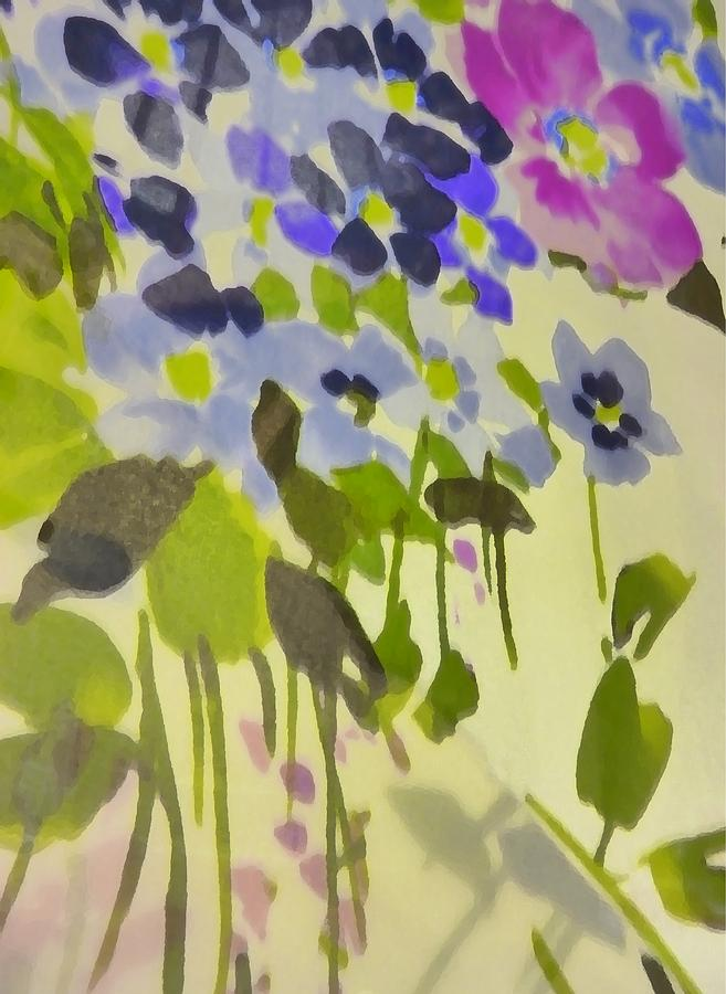 Botanical Photograph - Floral Vines by Florene Welebny