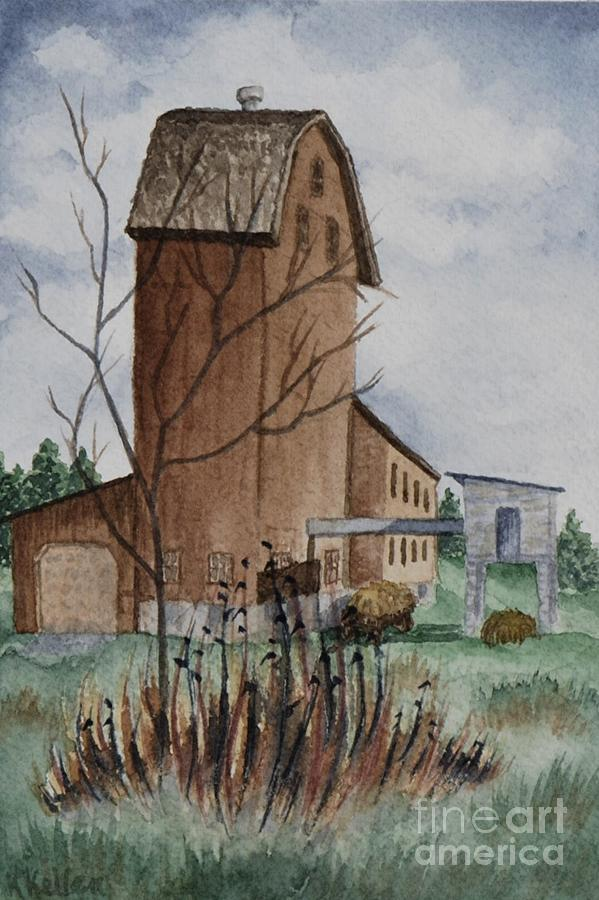 Florence Mill Painting - Florence Mill 1 by Kathleen Keller