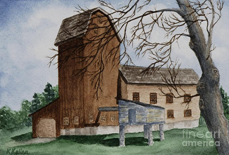 Florence Mill Painting - Florence Mill 2 by Kathleen Keller