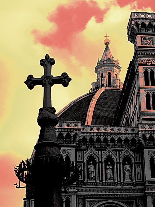 Florence Digital Art by Paolo Vitale