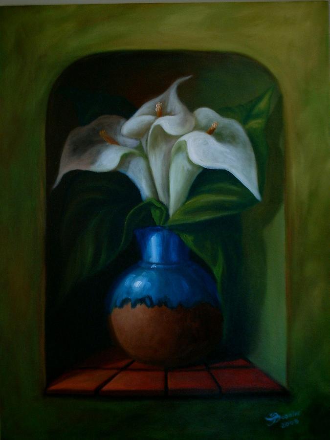 Florero Painting by Besaleel