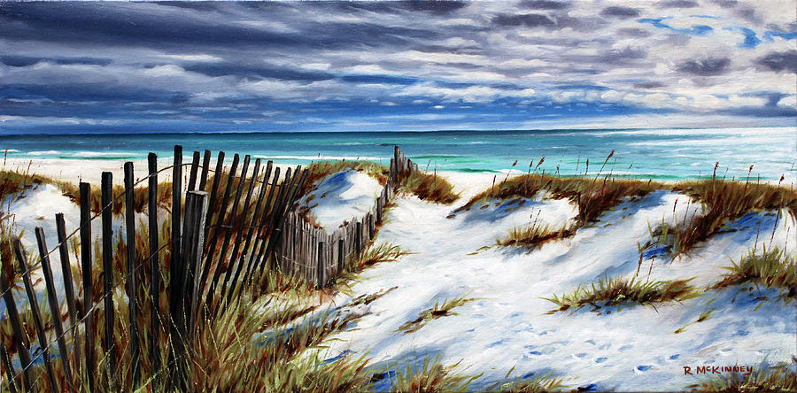 Florida Beach by Rick McKinney
