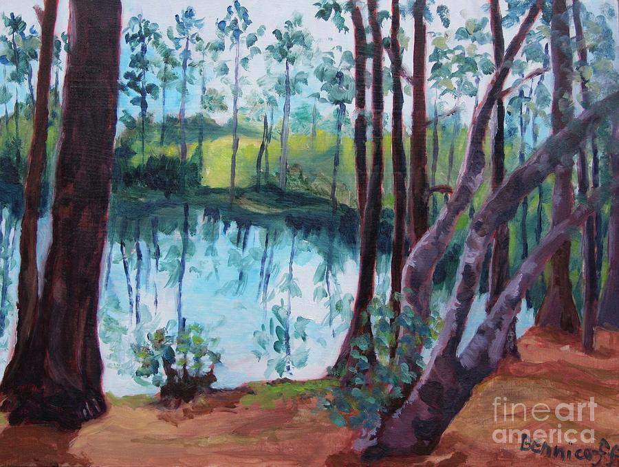 Florida Cypress Grove by Jan Bennicoff