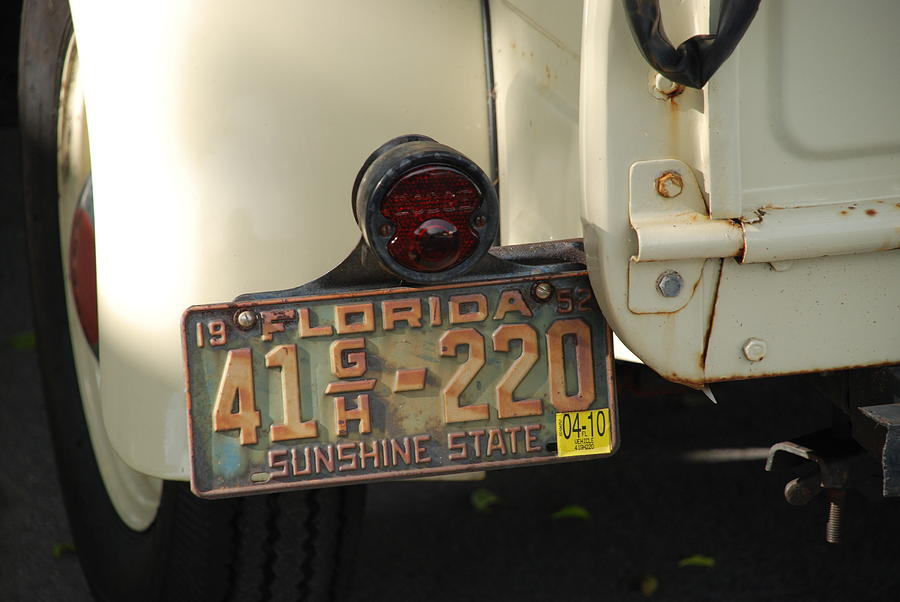 Truck Photograph - Florida Dodge by Rob Hans