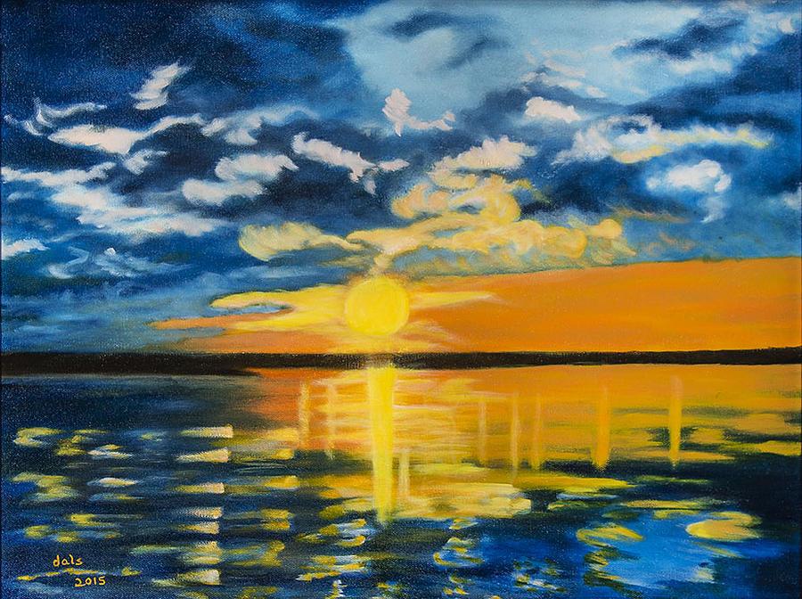 Florida Evening Sunset by Douglas Ann Slusher