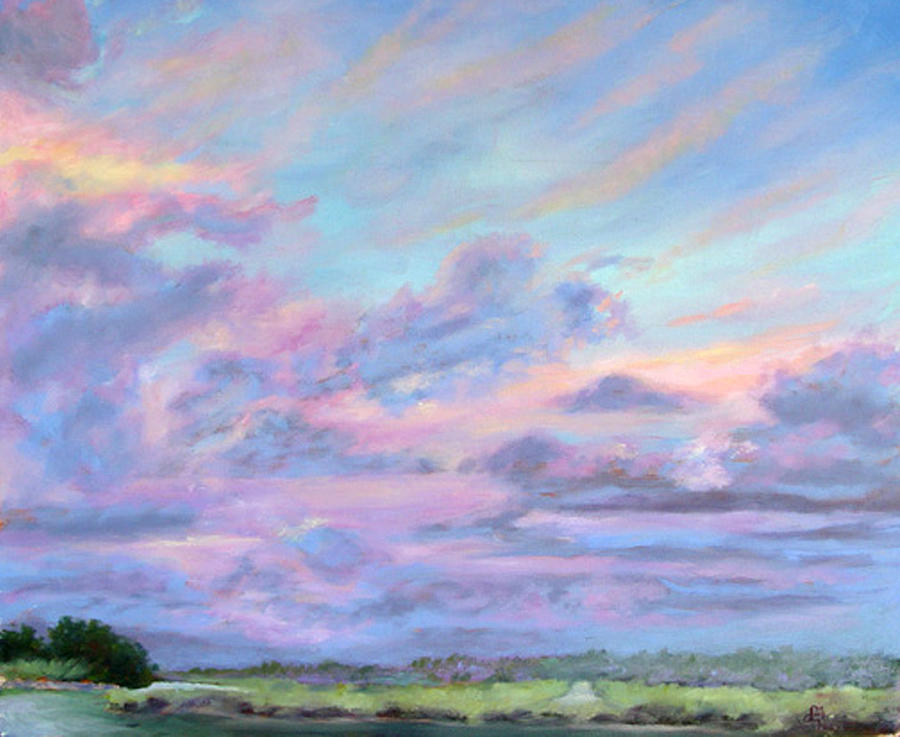 Florida Painting - Florida Flats by Diane Martens