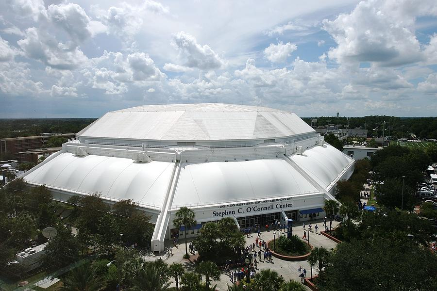 Gainesville Photograph - Florida Gators Stephen C. Oconnell Center by Replay Photos
