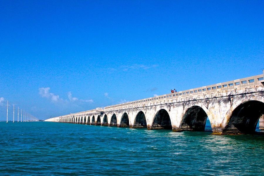 Florida Keys Bridge by Jon Reddin