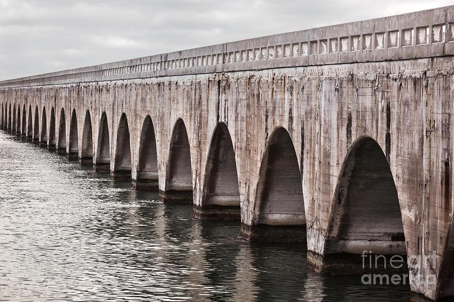 Florida Keys Photograph - Florida Keys East Coast Railway by Elena Elisseeva