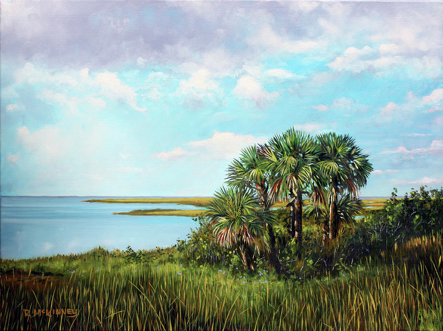 Florida Palms by Rick McKinney