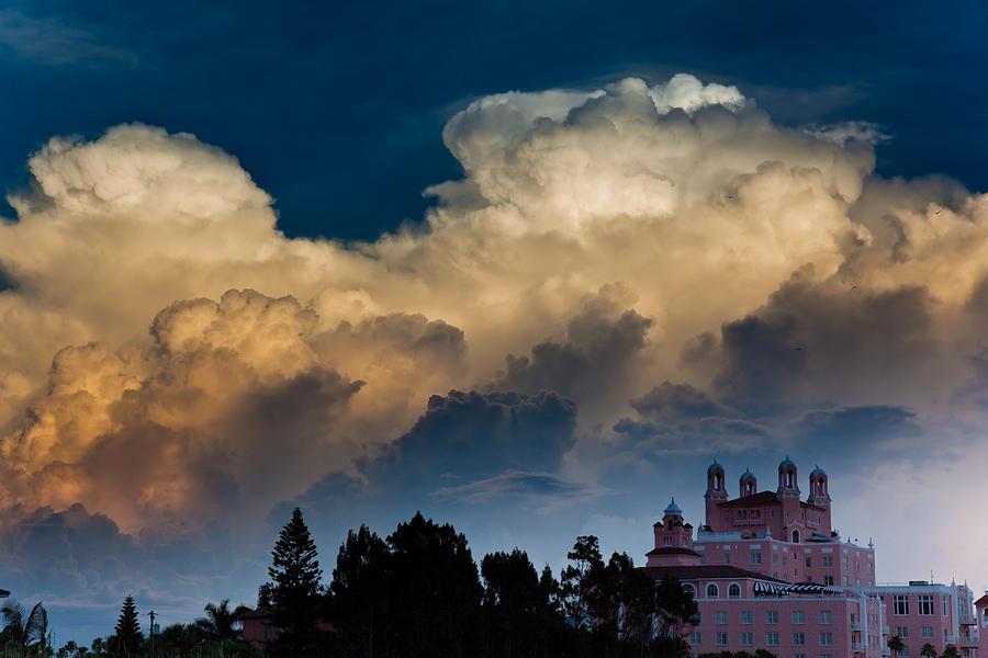 Don Cesar Photograph - Florida Skies by Patrick  Flynn