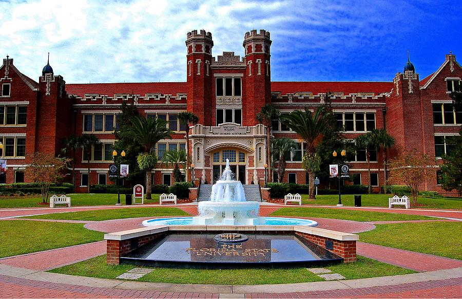 Florida Photograph - Florida State University Westcott Building  by Movie Poster Prints