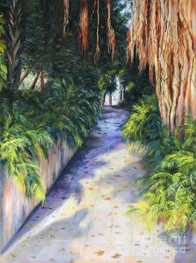 Florida stroll by Myra Goldick