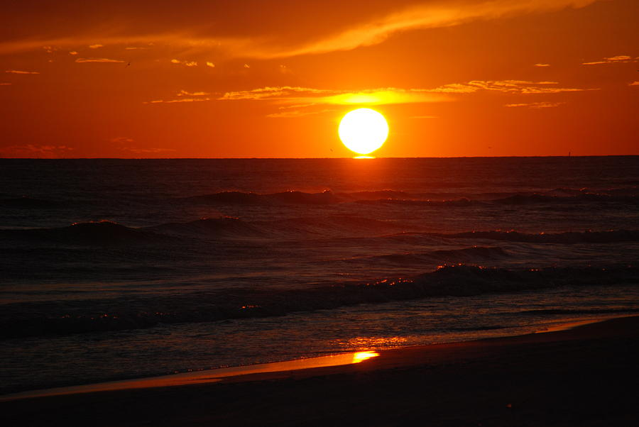 Sunset Photograph - Florida Sunset by Susanne Van Hulst