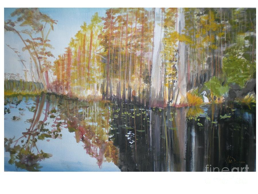 Wild Painting - Florida Swamp by Hal Newhouser