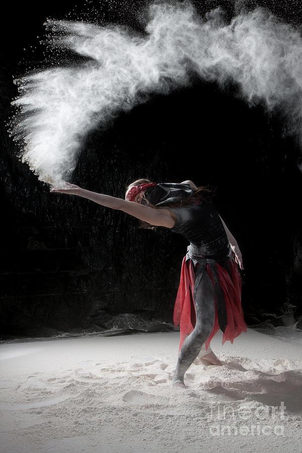 Dancing Photograph - Flour Dancing Series by Cindy Singleton