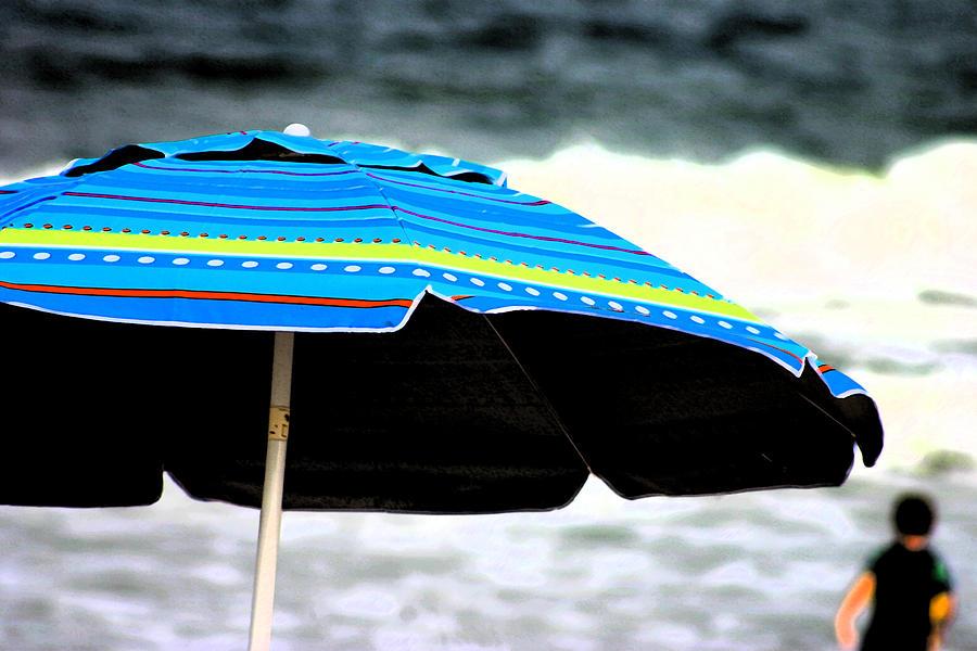 Umbrella Photograph - Flourescent Umbrella  by Kimberly Klein