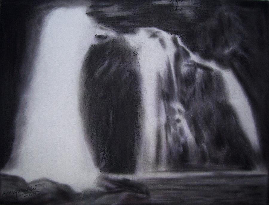 Landscape Pastel - Flow 1 by M S Quraishi