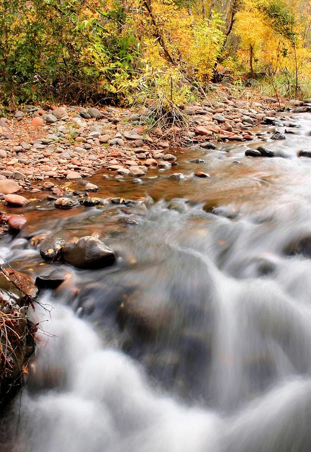 Sedona Photograph - Flow In Sedona by Kristin Elmquist