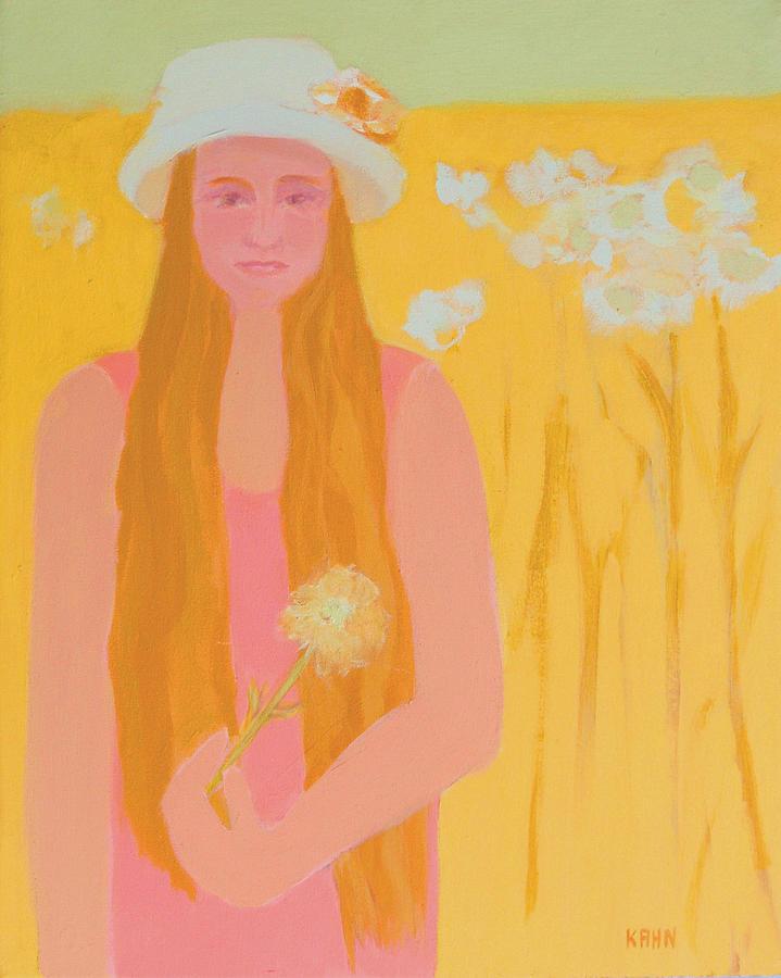 Flower Painting - Flower Child by Renee Kahn