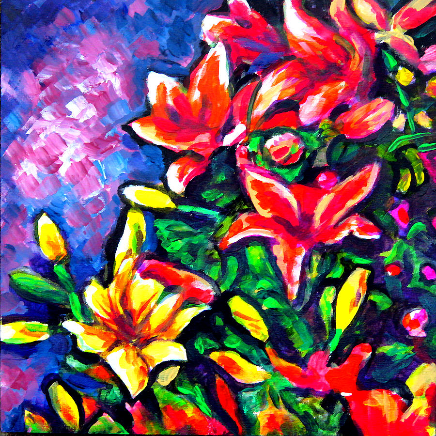 Floral Painting - Flower Culture 297 by Laura Heggestad