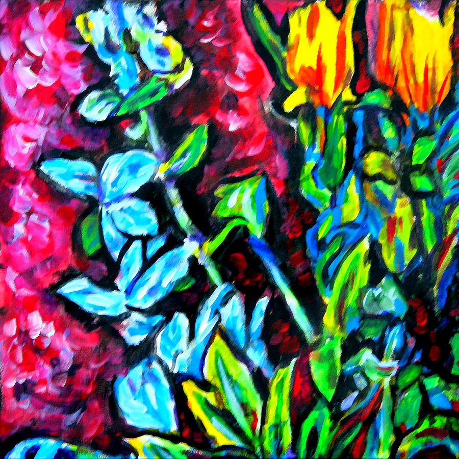 Floral Painting - Flower Culture 303 by Laura Heggestad