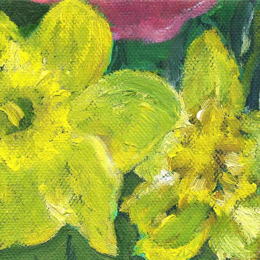 Flower Daffodil 2 by Kathleen Barnes