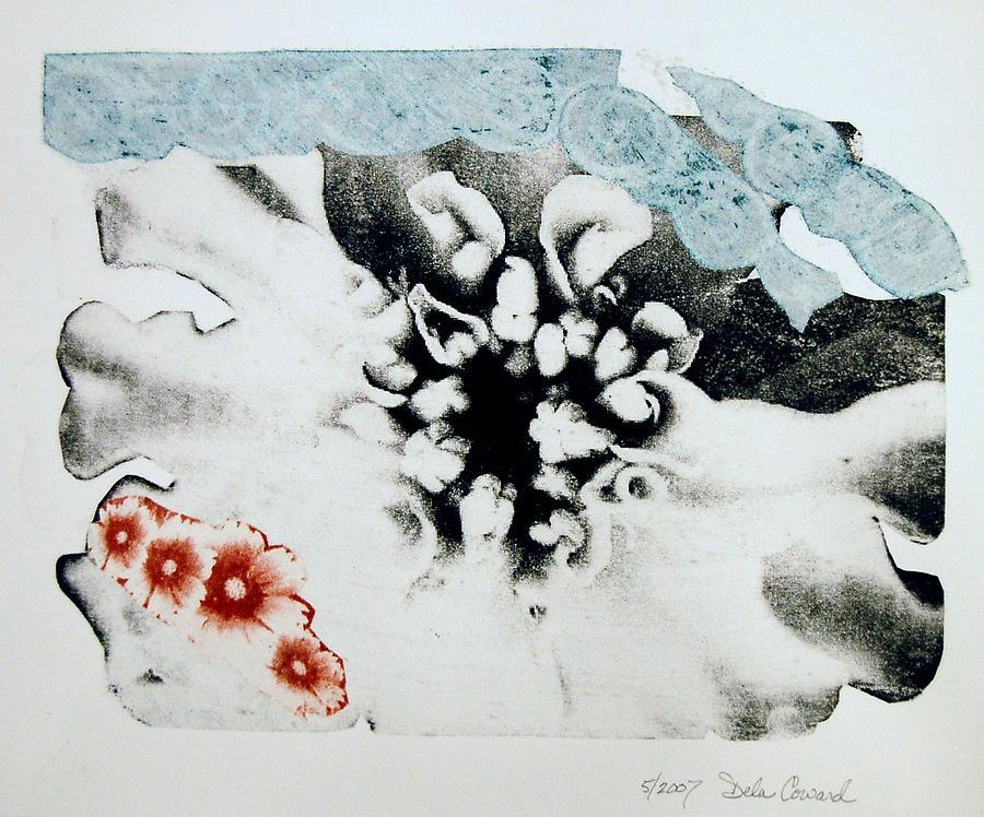 Flower Print - Flower by DeLa Hayes Coward