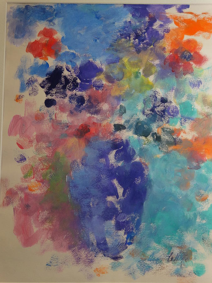 Flower Dreams Painting by Anne Lattimore