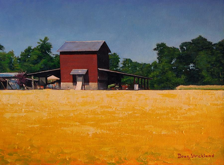 Rural Painting - Flower Field 2 by Doug Strickland