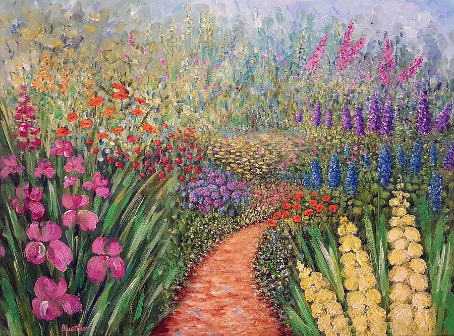 Flower gar02den  by LYNN BUETTNER