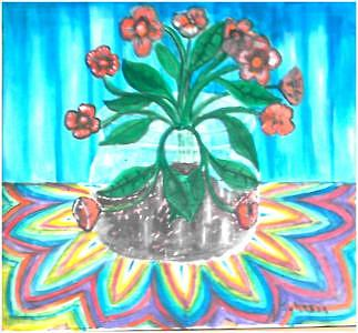 Flower Painting - Flower Life by Andrew Johnson